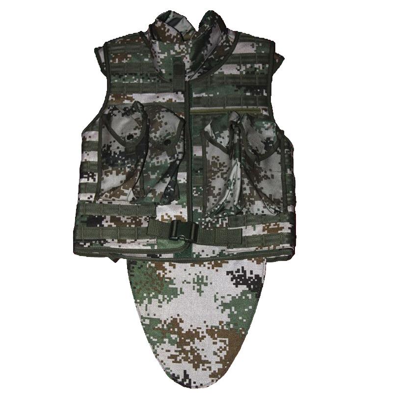 2006特种兵防弹衣(公安部防护防弹服)使用说明